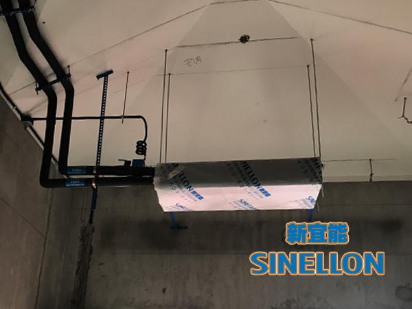 合生东郊葡京游戏大厅室内空调安装(1)