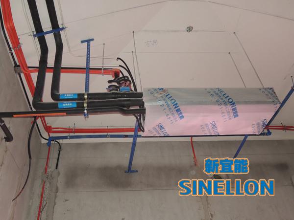合生东郊葡京游戏大厅室内空调安装(2)