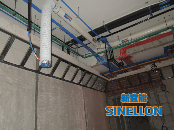 合生东郊葡京游戏大厅室内新风口保护