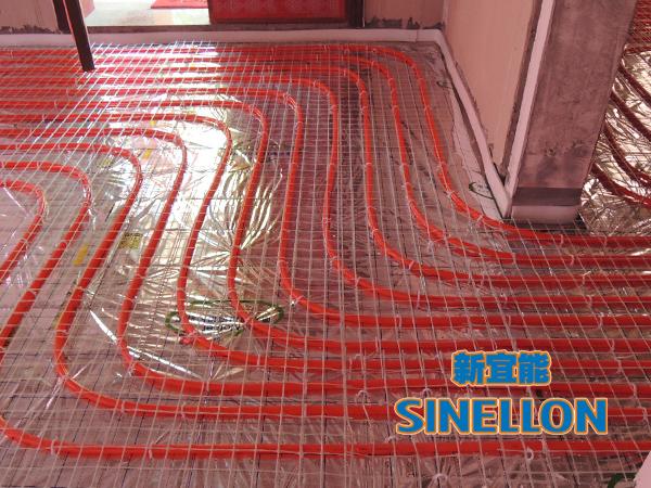 合生东郊葡京游戏大厅室内地暖管铺设(2)