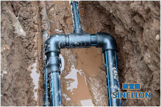 地源热泵室外地埋管系统